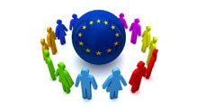European union community around the globe